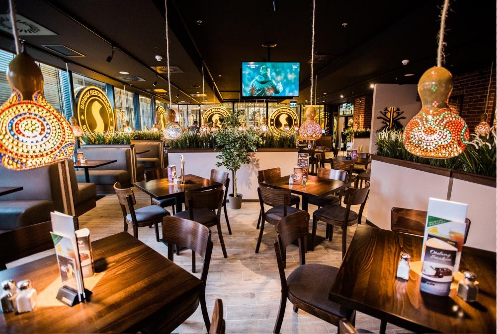 Restauracja franczyzowa Sphinx w Warszawie