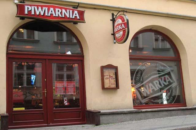 Piwiarnia Warka lokal franczyzowy